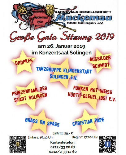26.01.2019 Große Gala Sitzung